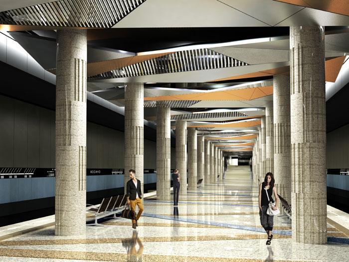 Станция метро Косино
