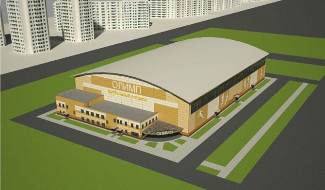 Стадион Олимп в Новокосино